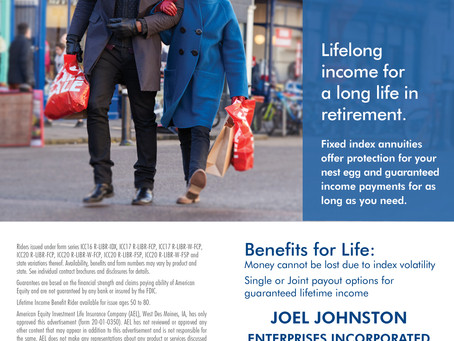 Lifelong Income for a long life in retirement