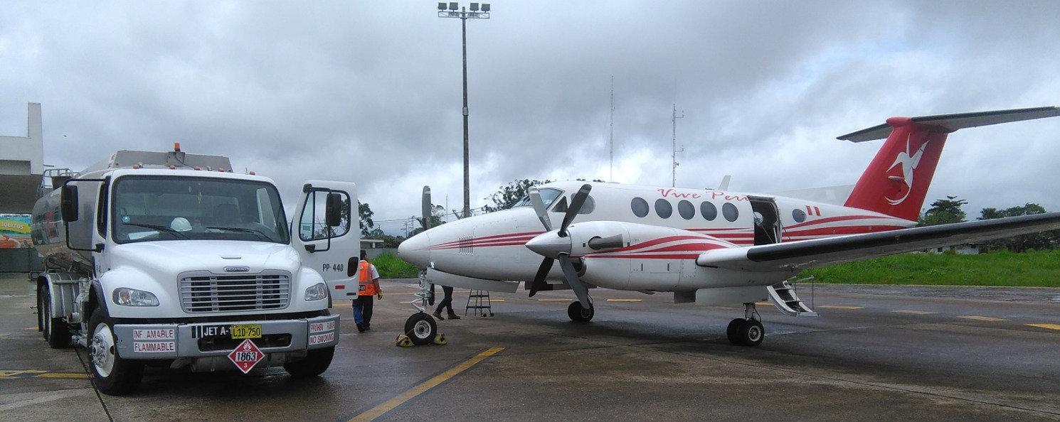 Transporte de carga aérea liviana