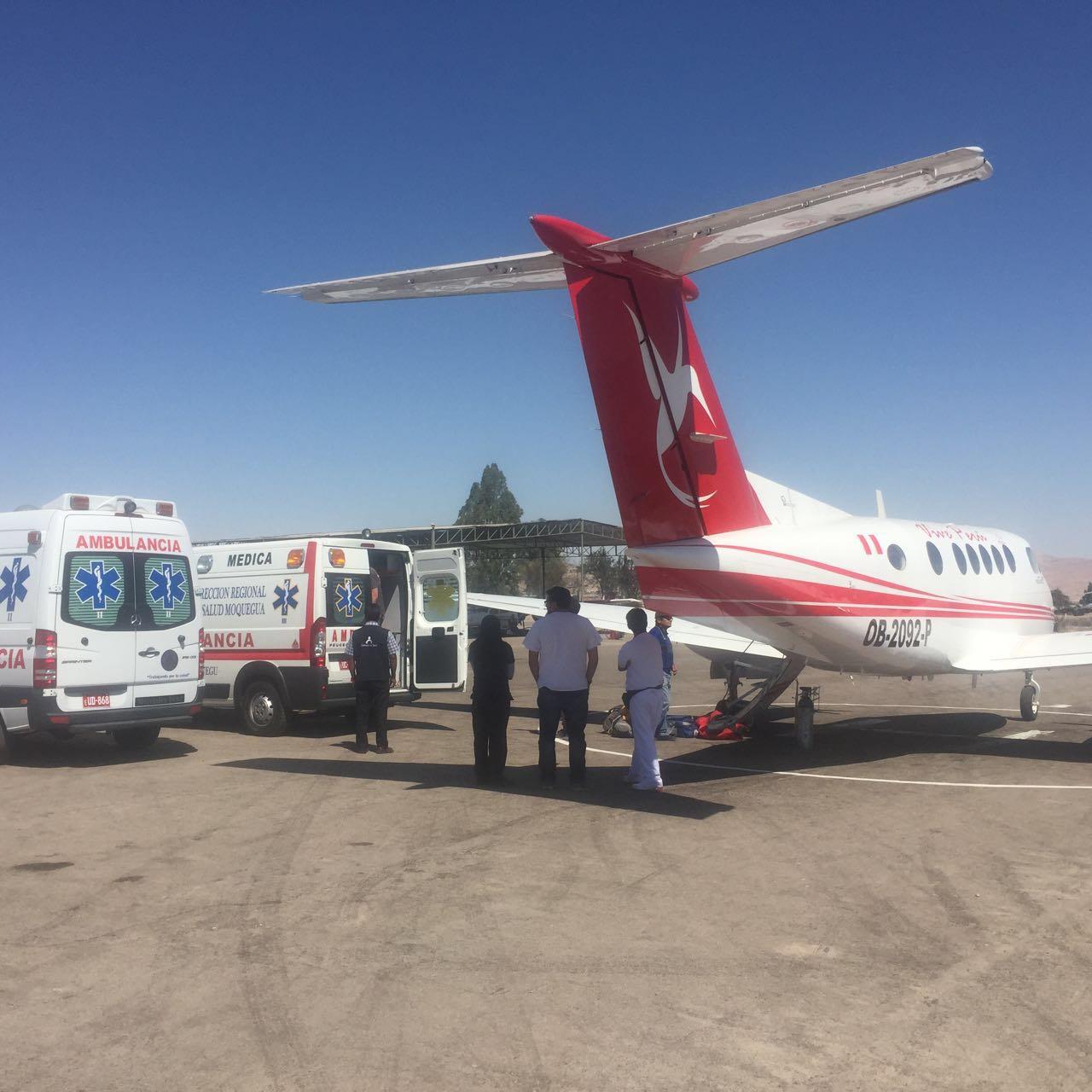 Transporte Aero-médico de Emergencia