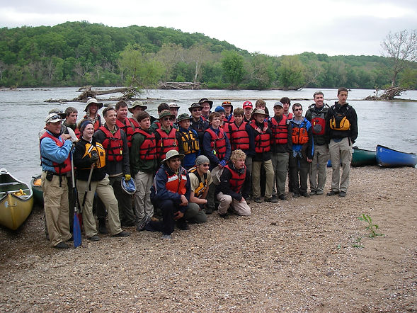 BoyScout Troop Trip Training, Potomac River