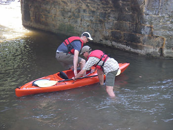 Kayak Antietam Creek