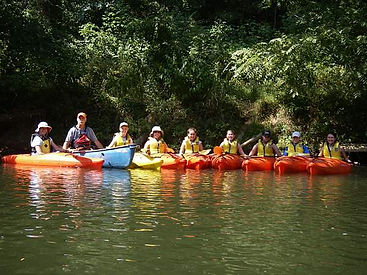 Kayak class for kids Antietam creek