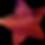 Red Striped Star