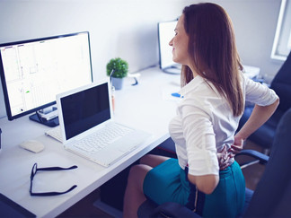 Reduce your back pain when telecommuting