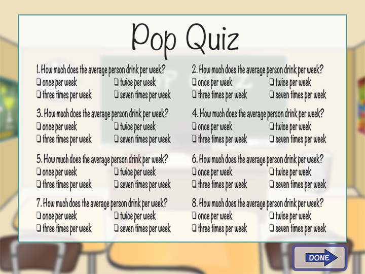 Classroom Quiz