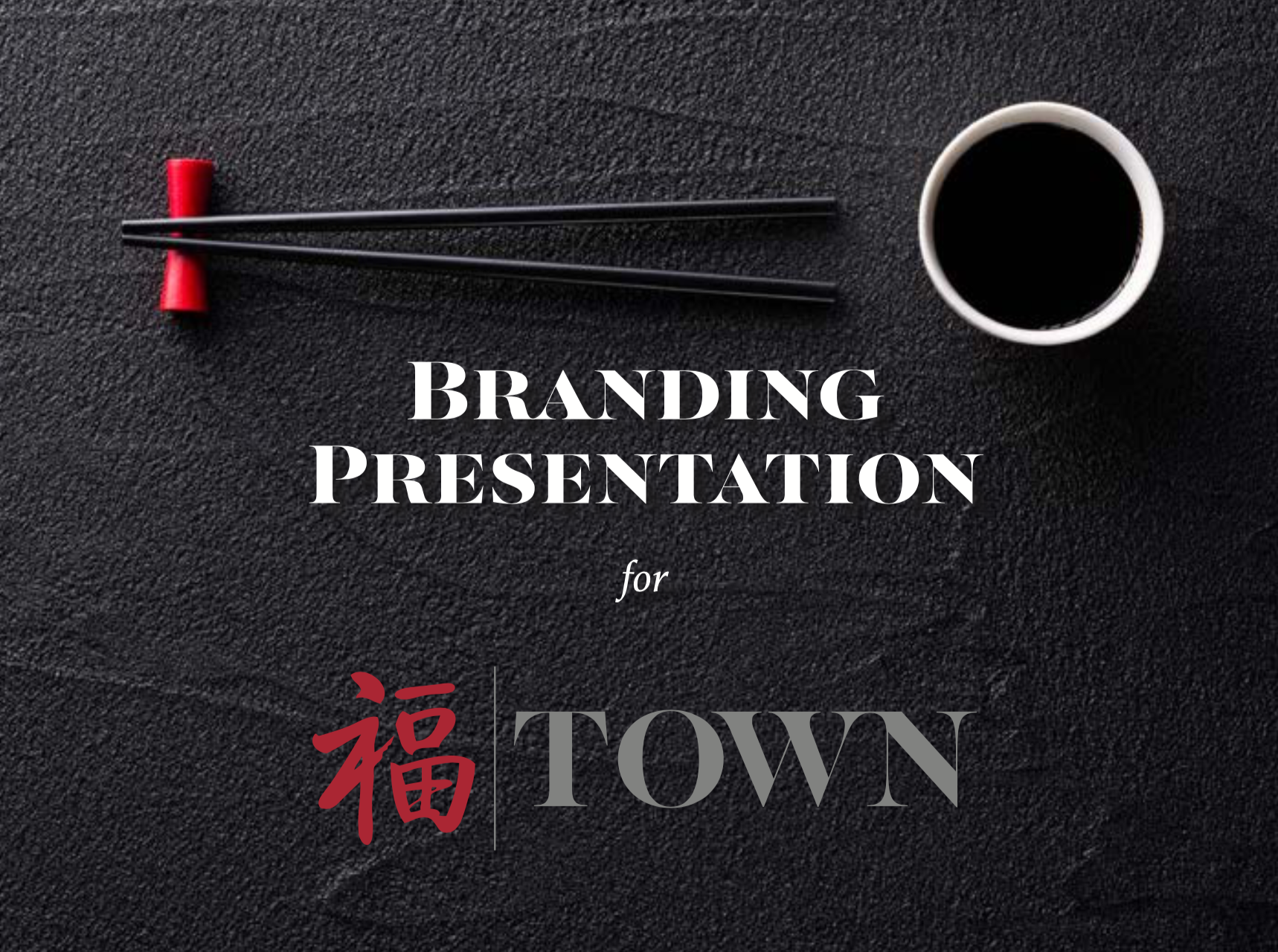 Town Branding Presentation