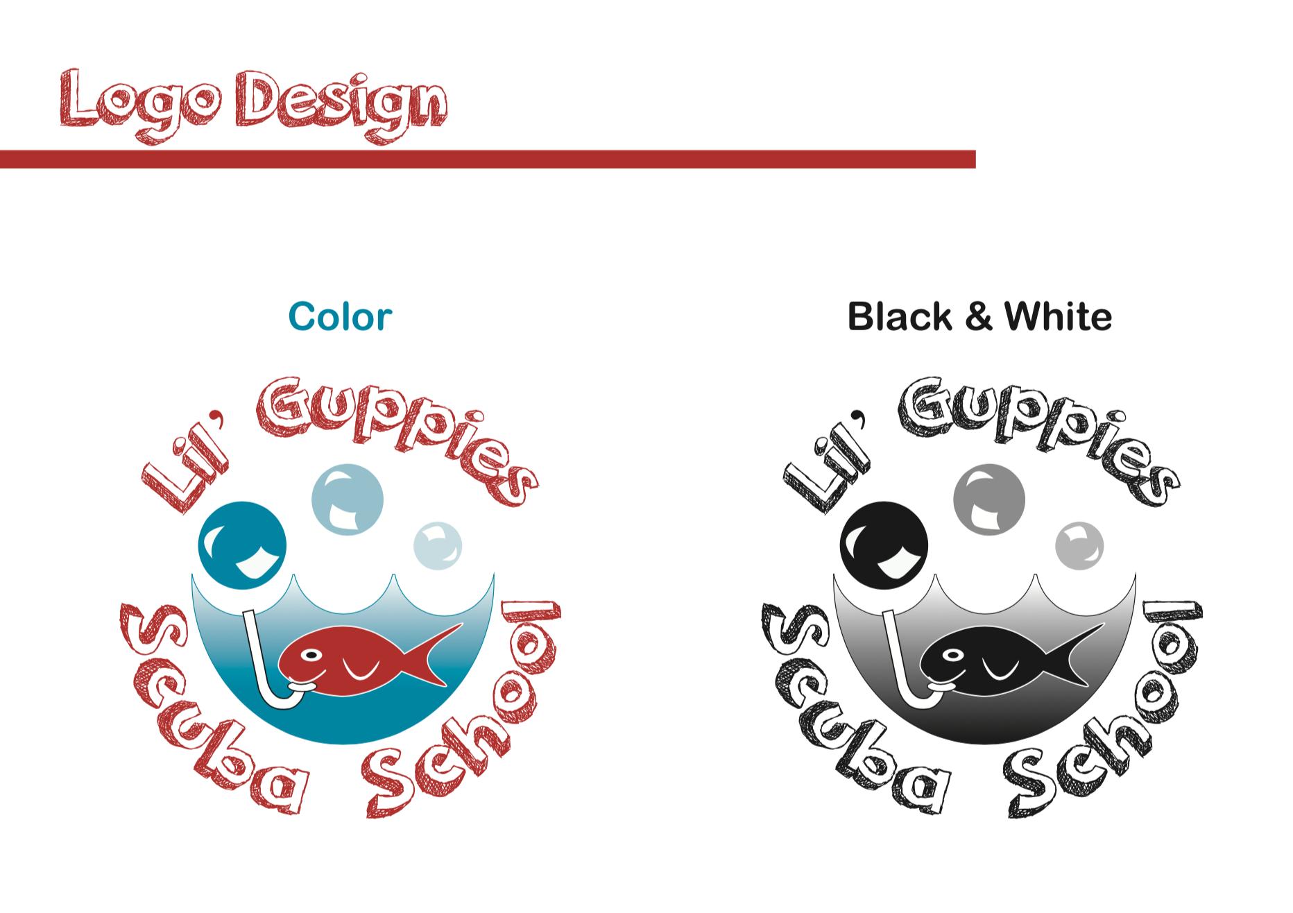 Lil' Guppies Logo