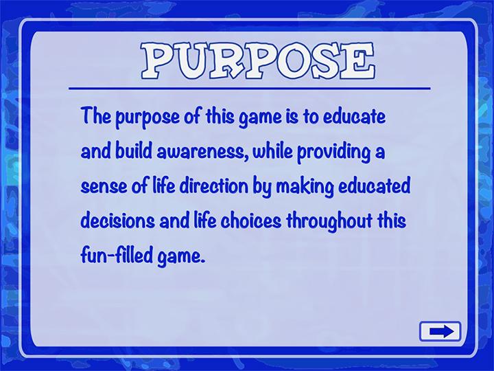 Purpose of Game