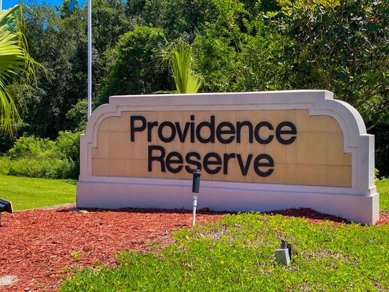 Providence Reserve Monument Sign