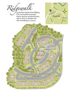 Ridgewalk Site Map