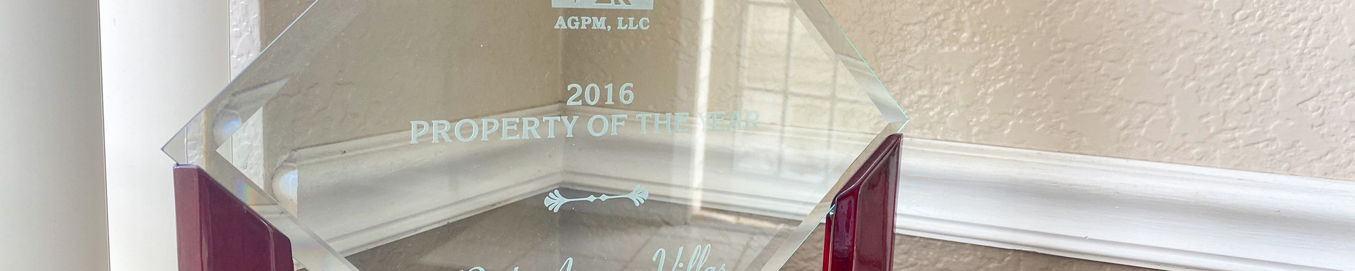 2016 AGPM Property of the Year