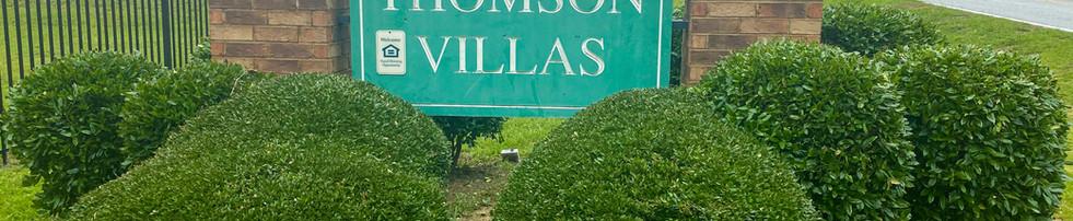 Thomson Villas Monument Sign