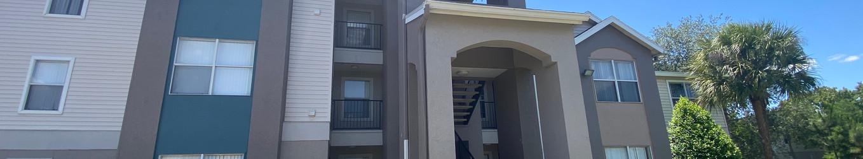 Exterior stairwell