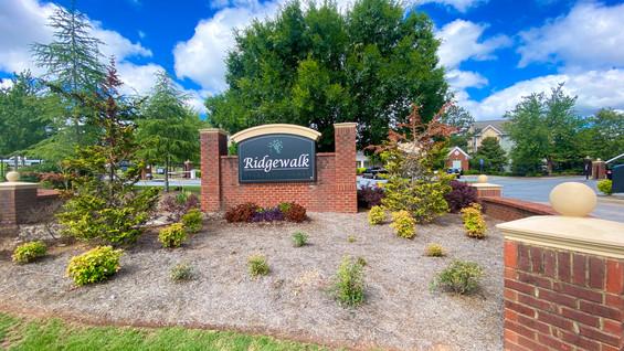 Ridgewalk Monument Sign