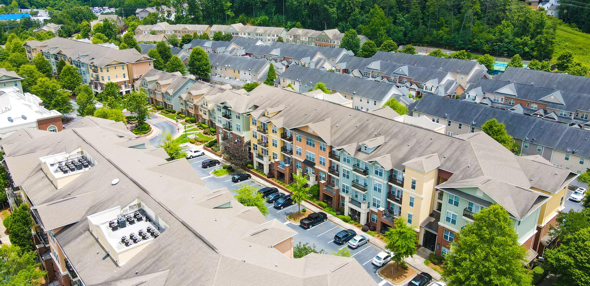 Aerial Building Photo