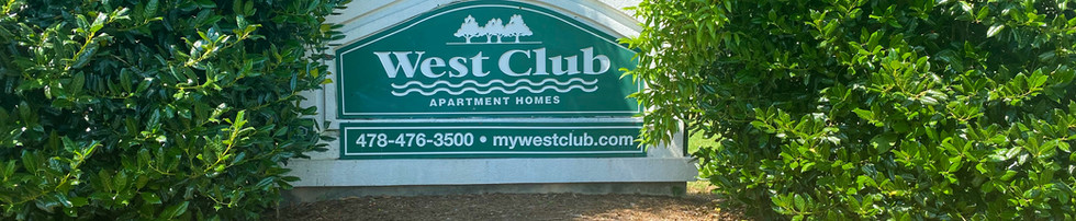 West Club Monument Sign