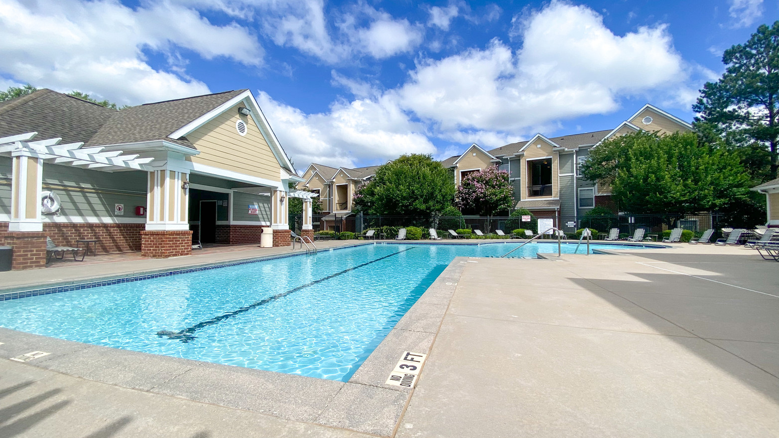 Exterior Building and Swimming Pool Photo