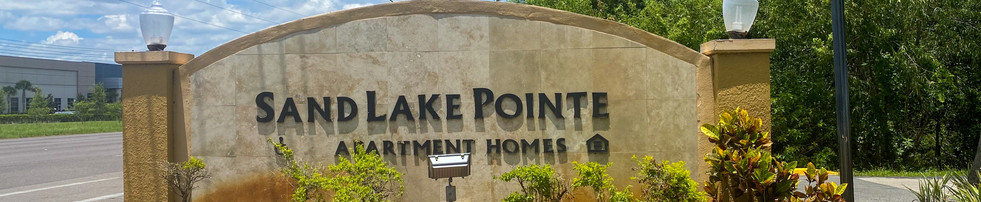 Sand Lake Pointe Monument Sign