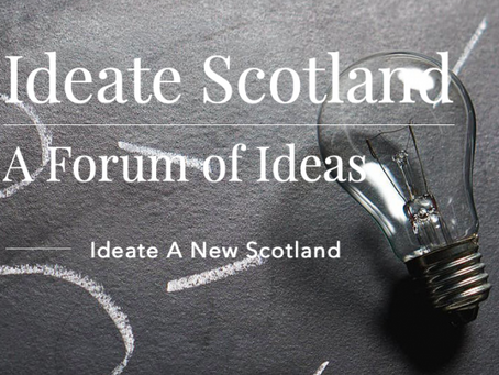 New 'contentious topics' forum Ideate Scotland to kick-off with Scottish Currency debate