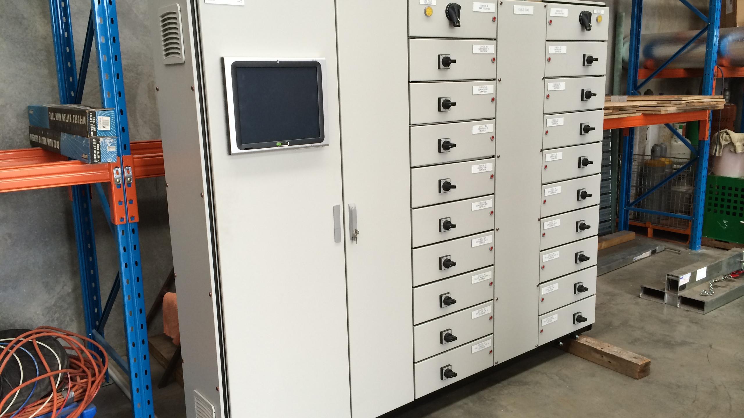 HVAC Control & Starter Panel