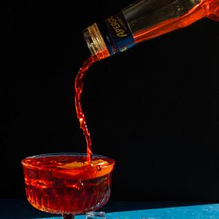 Aperol Pour
