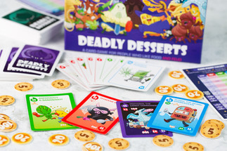 Deadly desserts card game (detail)