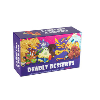 Deadly Desserts Card Game