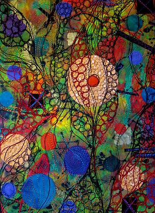 Pearl. Textile Art