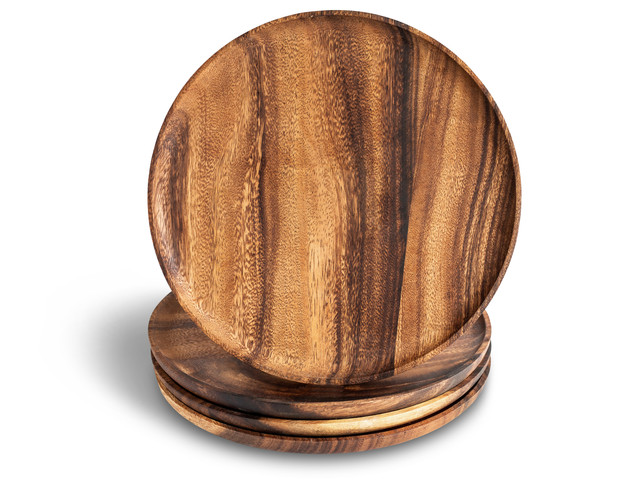 Acacia Wooden Plates