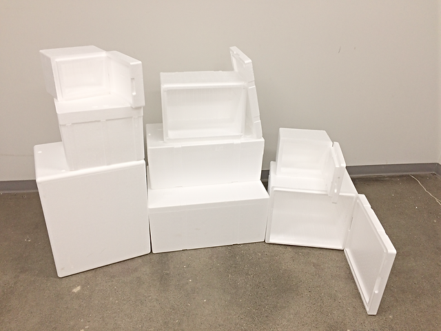 EPS Styrofoam Containers