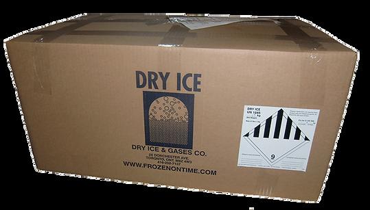 Frozen Shipment In Box