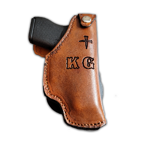 Custom Paddle Holster-Glock G43 (made to order with initials/stamping