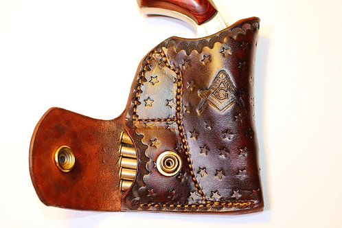 Make it a custom holster.. purchase to add stamping to your NAA or Bond