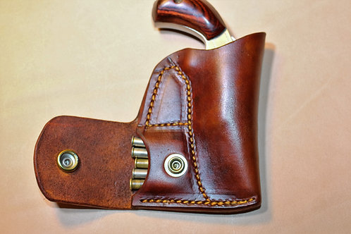 Pocket Holster with Ammo pouch For NAA 22 mag 1 1/8 or 1 5/8 barrel