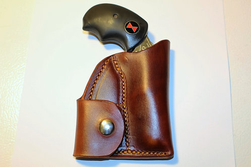 Pocket Holster with Ammo pouch for the NAA Black Widow fixed sights.