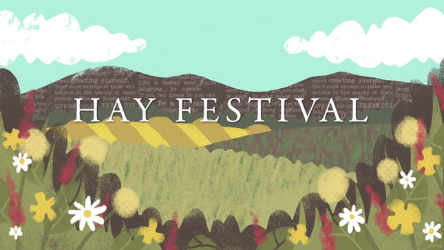 Hay Festival title sequence