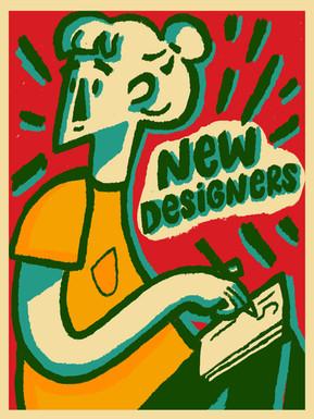 New Designers poster