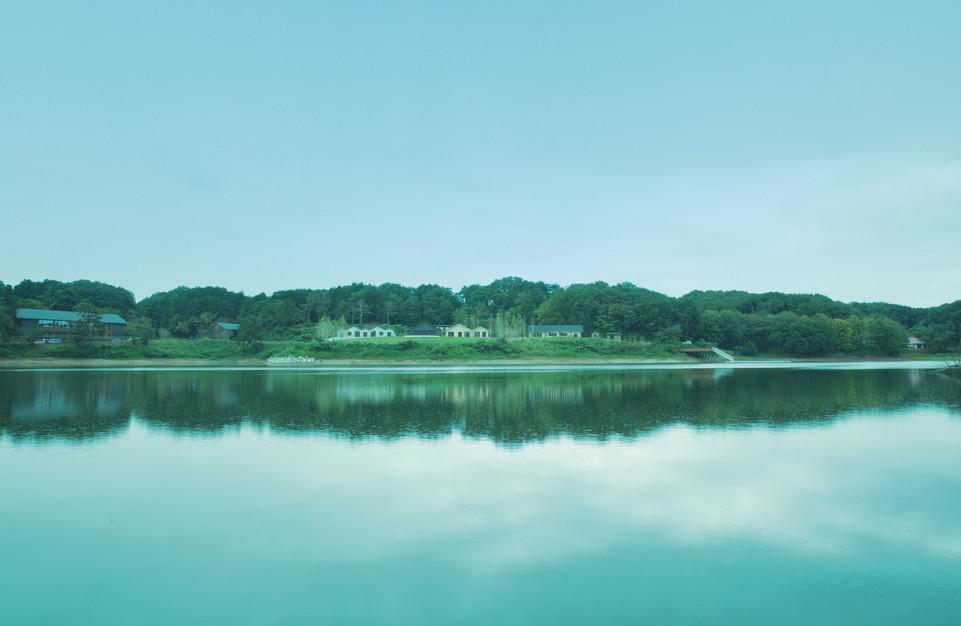 宮沢湖の湖畔でととのう