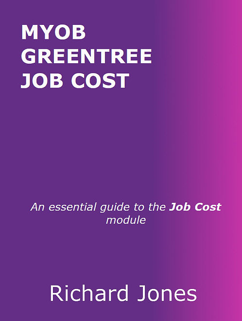 MYOB Greentree Job Cost