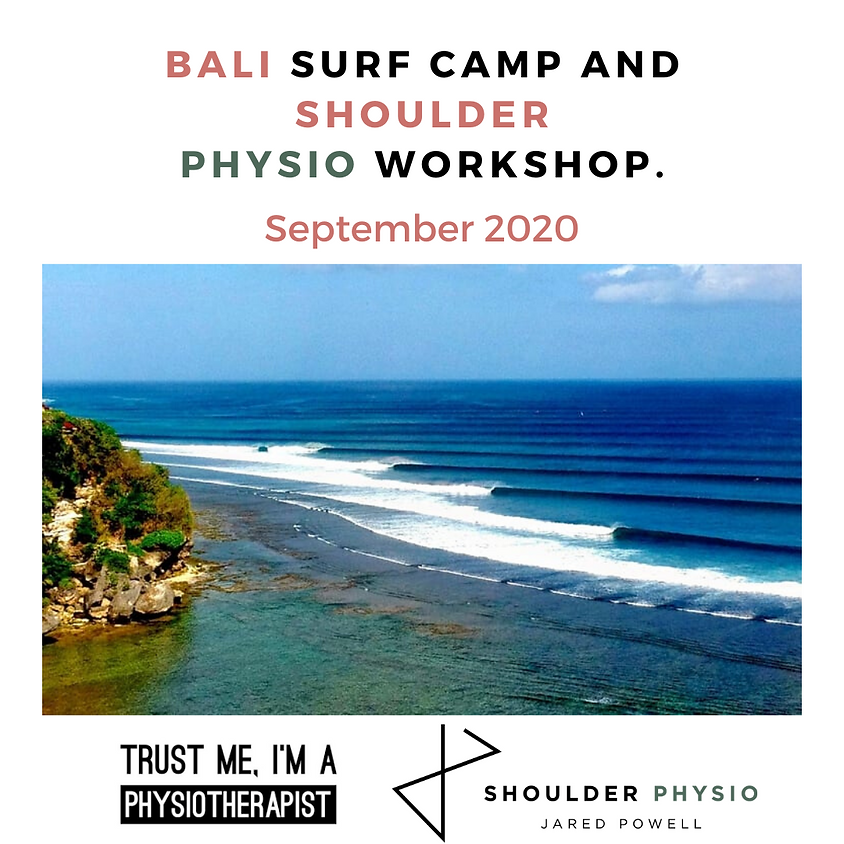 Bali surf camp! (postponed to 2021 due to COVID-19)