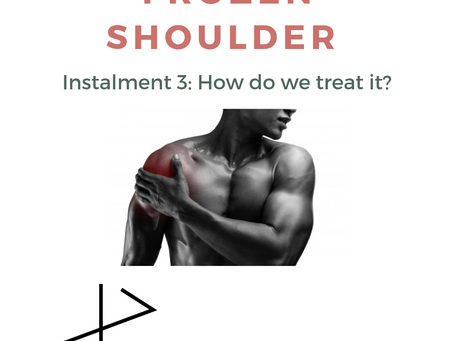 June literature review - frozen shoulder; how do we treat it?