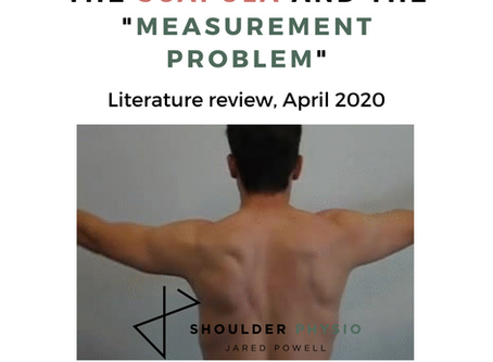 "The scapula and ""the measurement problem"""