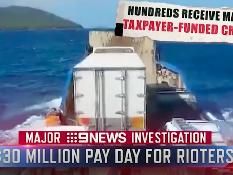 """THE REAL FAKE NEWS: """"$30M PAYDAY FOR RIOTERS!"""""""