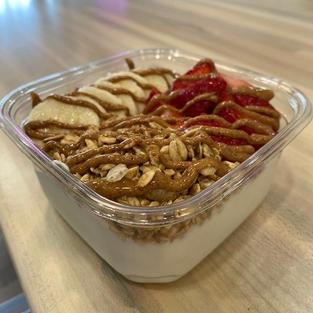 Build a Greek yogurt Bowl