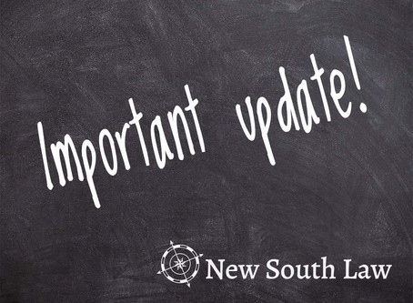Please read - Important Business Update