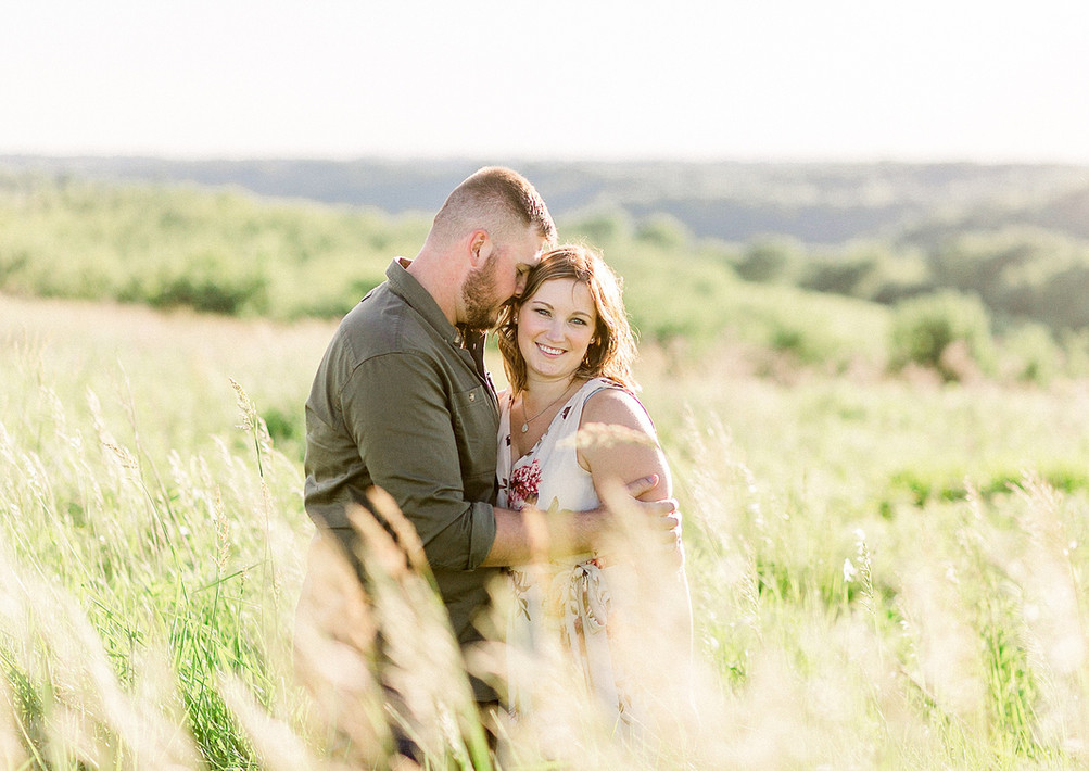 Megan + Zach-Engagement-Haley Hundt Phot
