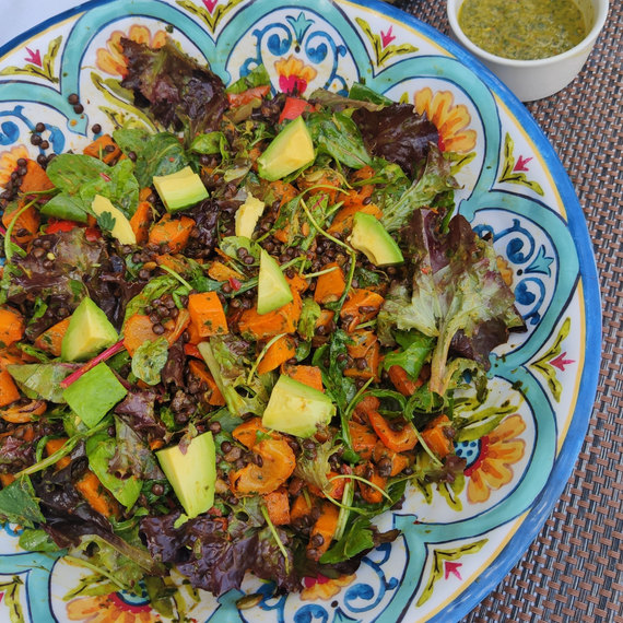 Chimichurri salad A