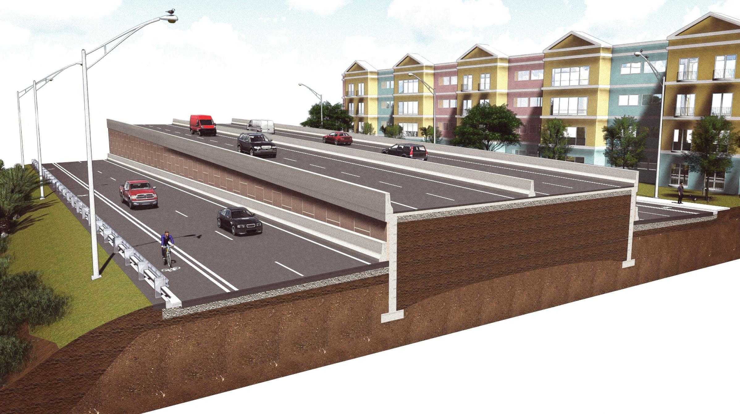 8th Street/SR90 Overpass (Miami, FL)