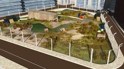 3D rendering; brownfield site