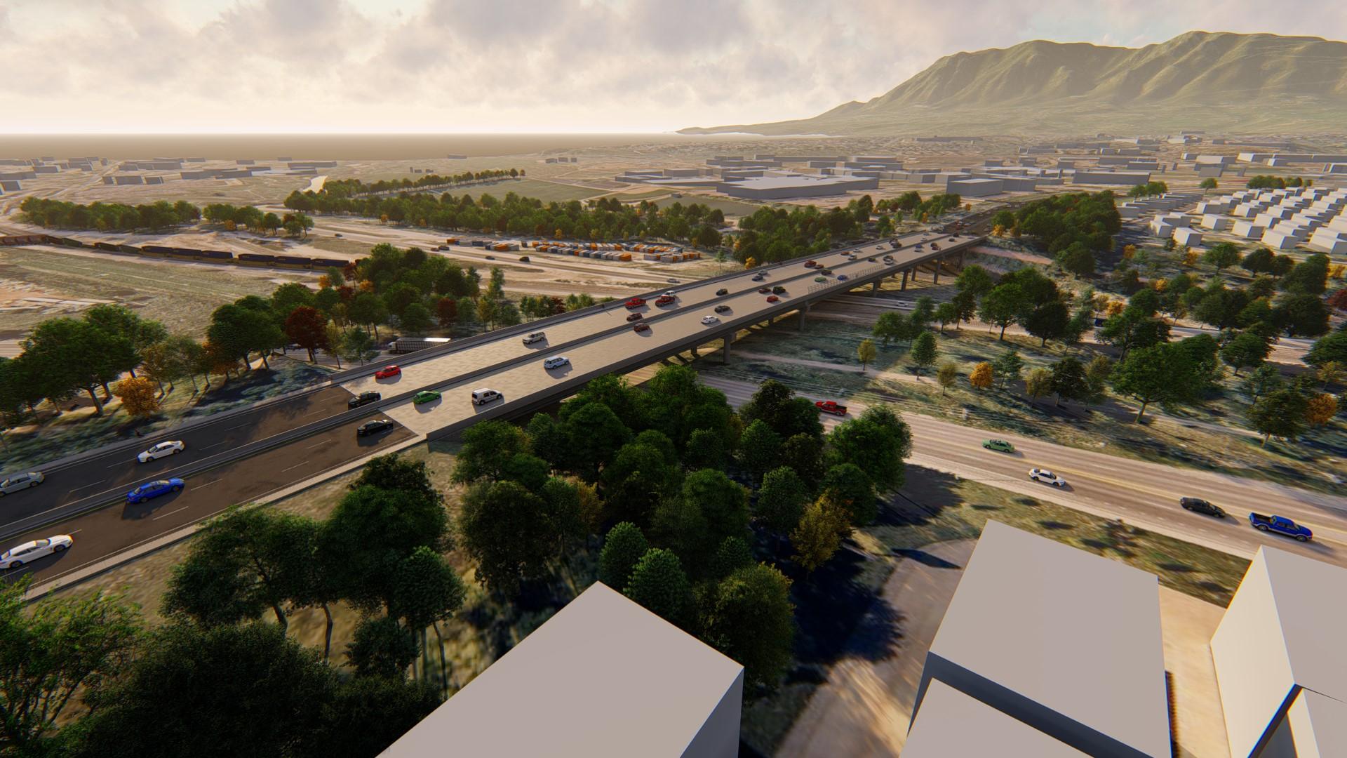 Circle Drive 3D rendering